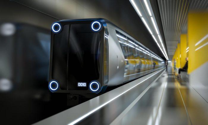 Art Lebedev navrhli futuristickou soupravu metra stransformovatelnými sedadly