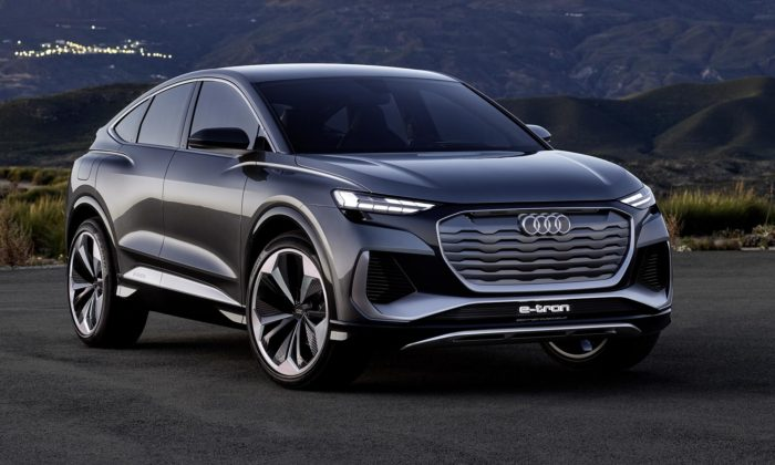 Audi ukázalo koncept Q4 Sportback e-tron mířící pomalu dosériové výroby