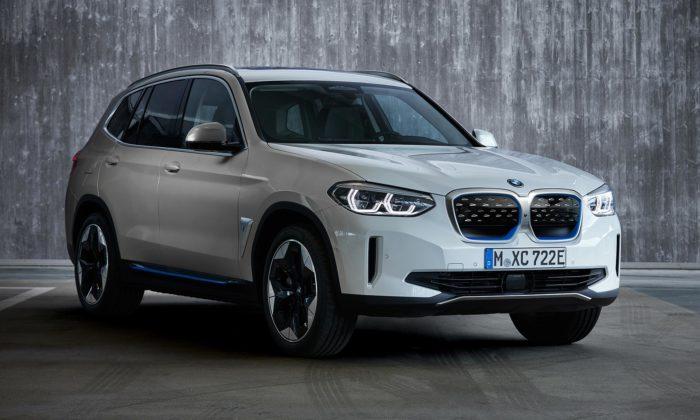 BMW vstupuje dodoby elektrické svým prvním SAV soznačením iX3