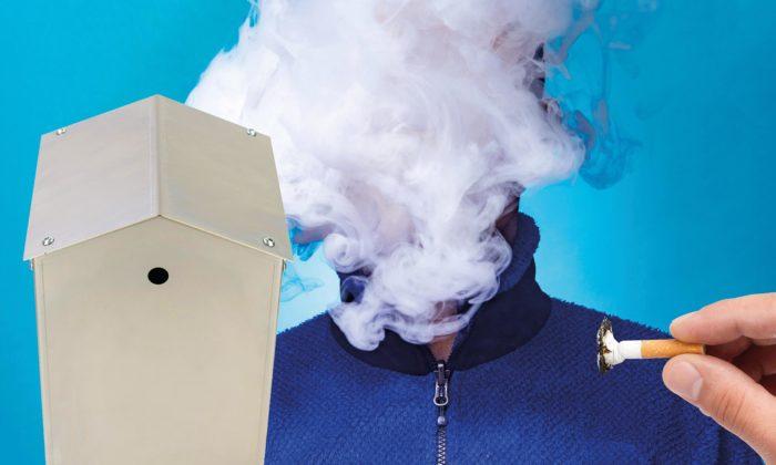 Bouda našpačka chce zbavit města aobce cigaretových nedopalků