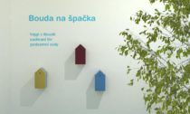 Instalace Bouda na špačka na Pragie Design Week 2020