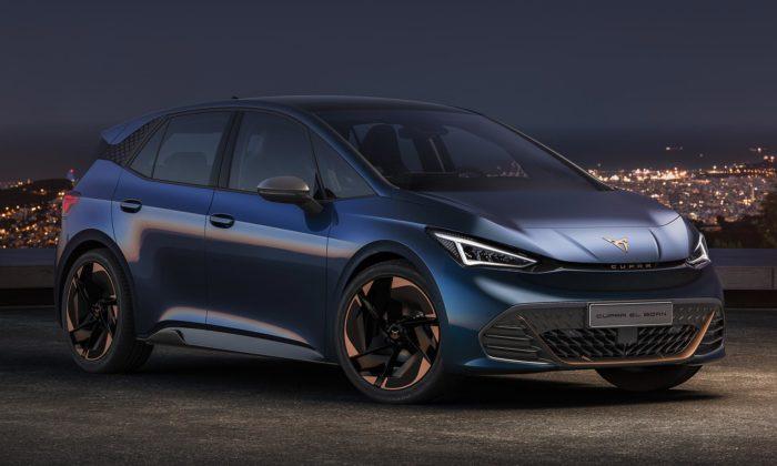 Cupra ukázala svůj první avelmi stylový elektromobil pojmenovaný el-Born