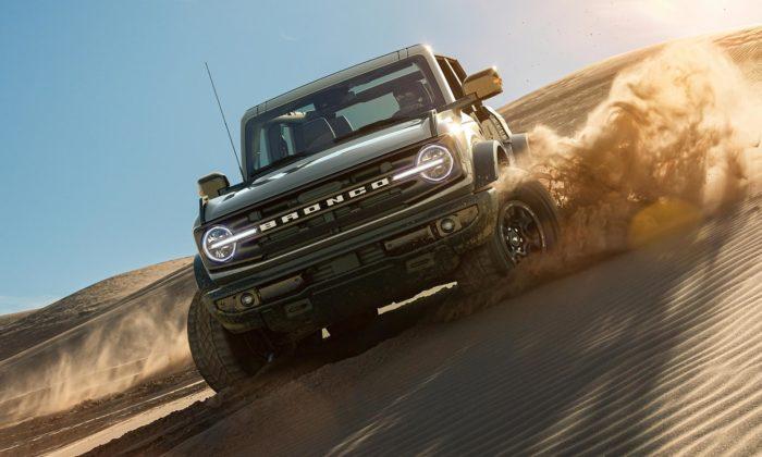 Ford představil šestou avelmi povedenou generaci off-roadu Bronco