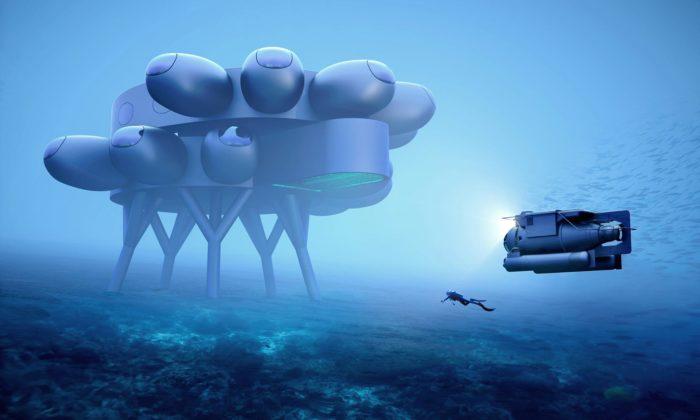 Proteus bude mezinárodní podmořská stanice pro výzkum azáchranu naší planety