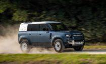 Land Rover Defender v užitkové verzi