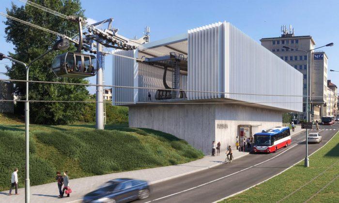 Praha schválila výstavbu lanovky zPodbaby doBohnic aukázala finální podobu stanic