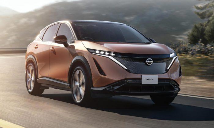 Elektrický crossover Nissan Ariya zahajuje novou éru nejen vdesignu značky
