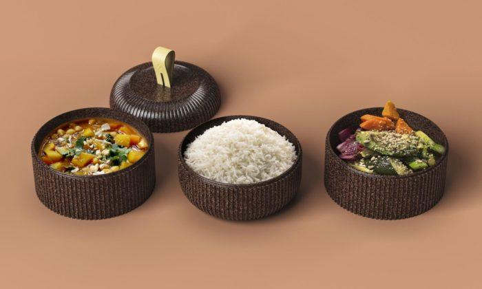Zero jsou znovu použitelné fastfoodové obaly najídlo ze slupek kakaových bobů