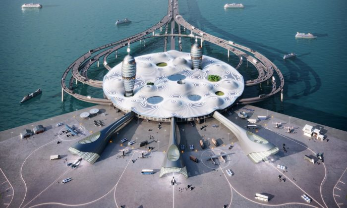 V Japonsku má vyrůst futuristické letiště Space Port Japan pro lety dovesmíru