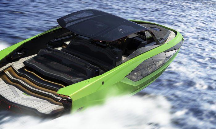 Lamborghini navrhlo luxusní motorovou jachtu inspirovanou supersportem Sián