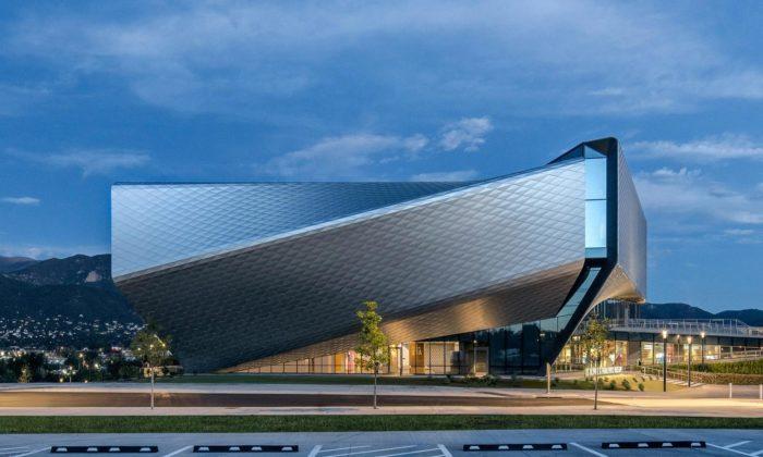 Spojené státy otevírají olympijské muzeum sfuturistickými tvary abežeckou dráhou