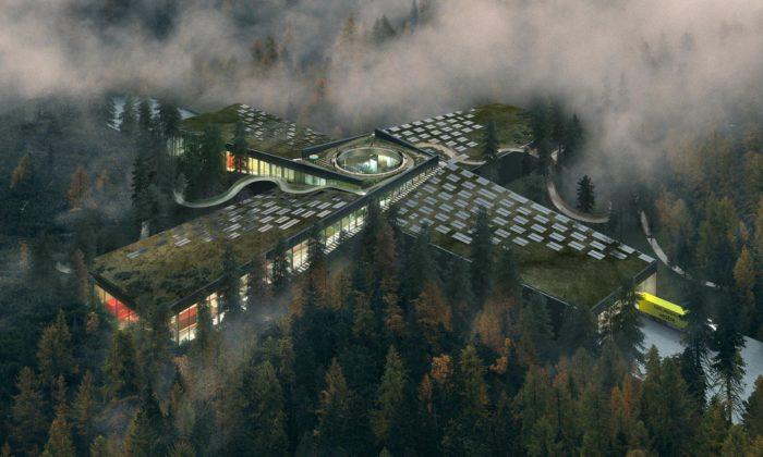 BIG postaví vnorských lesích nejekologičtější továrnu nanábytek nasvětě