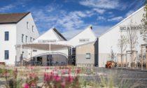 Vindyšova továrna proměněná naSki aBike centrum Radotín