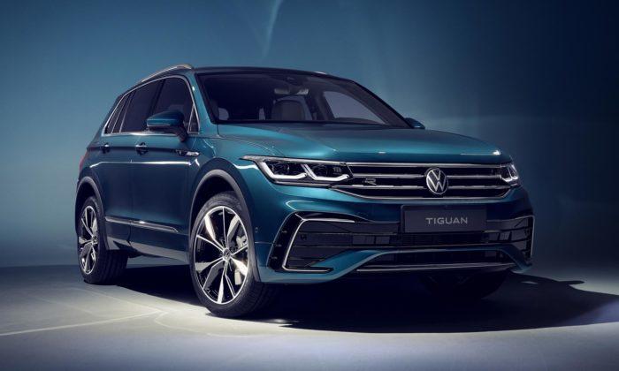 Volkswagen omladil model Tiguan adal mu novou masku ihybridní pohon