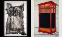 Christo a Jeanne-Claude a ukázka z výstavy v Centre Pompidou