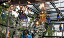 Instalace svítidel v rámci výstavy Trendy.Design.Produkce v Jablonci nad Nisou