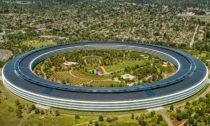 Dokončený kampus Apple Park od Foster + Partners