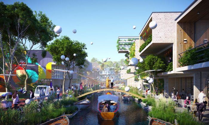 BIG postaví vMalajsii ekologické město BiodiverCity složené zněkolika ostrovů
