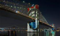 Brooklynský most po přestavbě v rámci projektu Brooklyn Bridge Forest