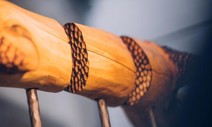 Eva Zámečníková tvoří pod značkou Evista Design sochy zvelkých kusů dřeva