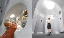 Wormhole Library u čínského města Haikou od MAD