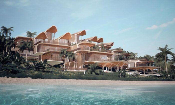 Zaha Hadid Architects navrhli naostrov vHondurasu rezidence zmístního dřeva