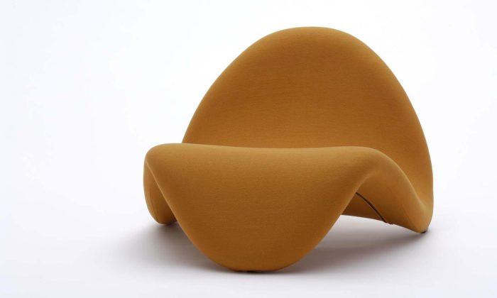 Vídeň vystavuje nadčasový iretro sedací nábytek stvary jazyka akosmické lodi