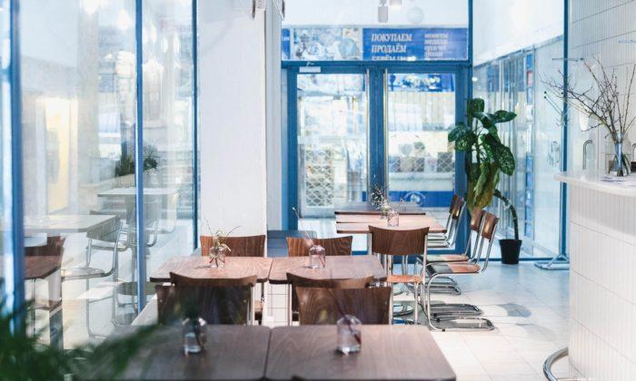 Ve funkcionalistickém domě seŠtěpánskou pasáží vznikla restaurace sklubem Swim