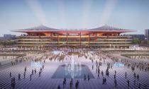 Xi'an International Football Centre odZaha Hadid Architects