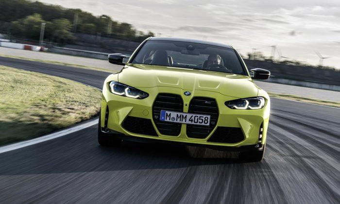 BMW ukázalo modernizovaný M3 Sedan aM4 Coupé sexpresivnějším designem
