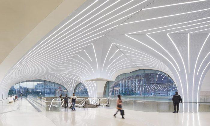 UNStudio dokončilo prvních 37 stanic metra vkatarském Dauhá