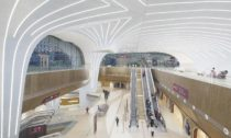 Stanice metra Dauhá v Kataru od UNStudio