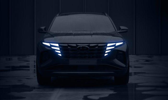 Hyundai Tucson dostal překvapivý design včele sesvětlomety ukrytými vmasce