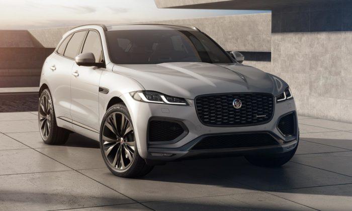 Jaguar modernizuje model F-Pace adává mu zcela nový interiér