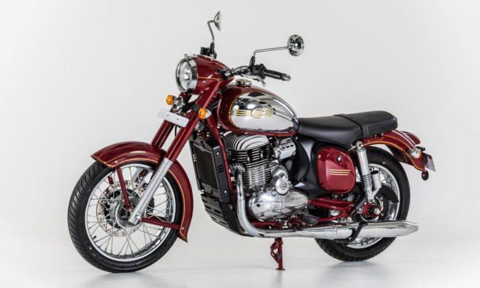 Jawa začne prodávat moderní motorku 300 CL sretro designem starých Kývaček