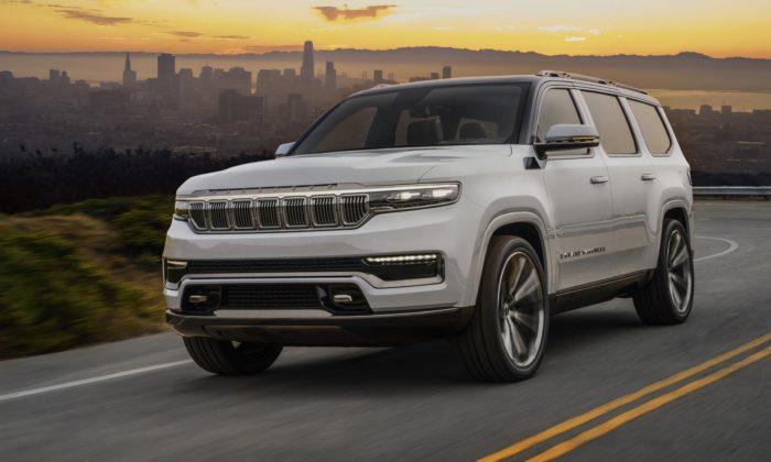 Jeep vzkřísil model Wagoneer aukázal povedený koncept velkého SUV