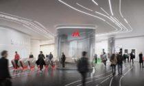 Stanice metra Klenoviy Boulevard Station 2 v Moskvě od Zaha Hadid Architects
