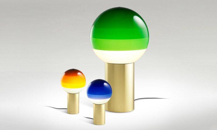 Light Works představuje svítidla Dipping Light namáčená dobarvy