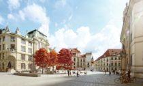 Mariánské náměstí vPraze porekonstrukci