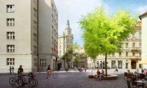 Mariánské náměstí v Praze po rekonstrukci