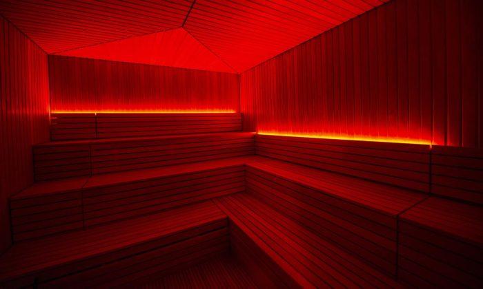 Národní sauna nastřeše Národního divadla jenejutajovanější saunou vPraze