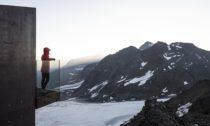 Ötzi Peak 3251 metrů nad mořem