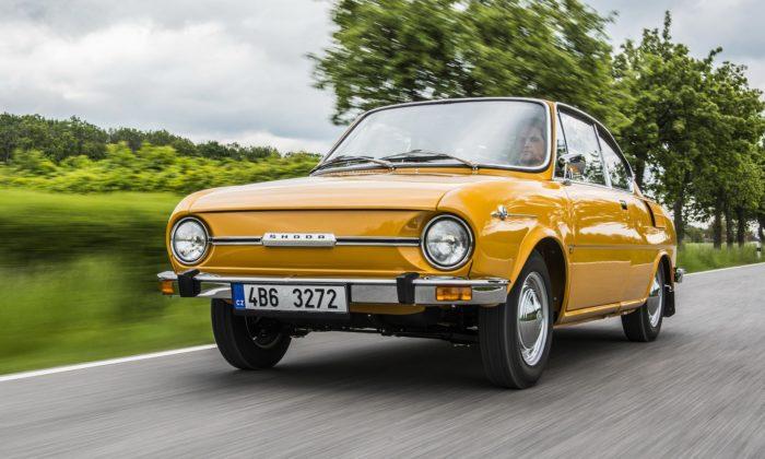 Legendární sportovní kupé Škoda 110 R slaví výročí 50 let