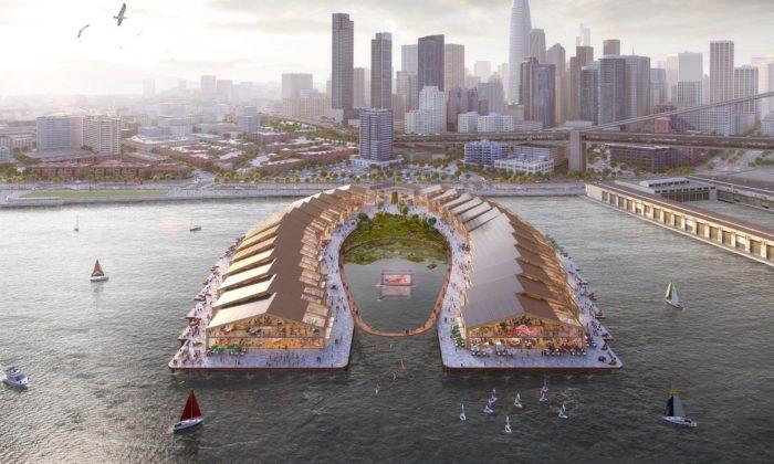 San Francisco postaví molo The Cove sekologickým parkem apromenádou