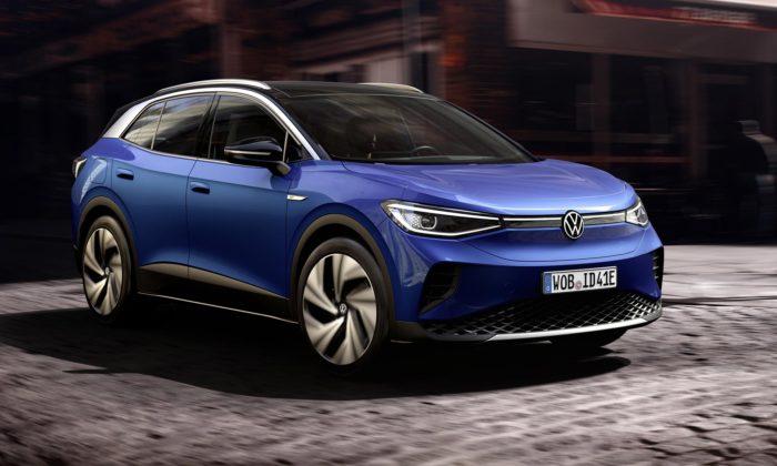 Volkswagen odhalil své první čistě elektrické SUV pojmenované ID.4