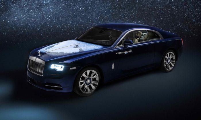 Rolls-Royce sepochlubil namíru upraveným modelem Wraith ozdobeným kouskem Země