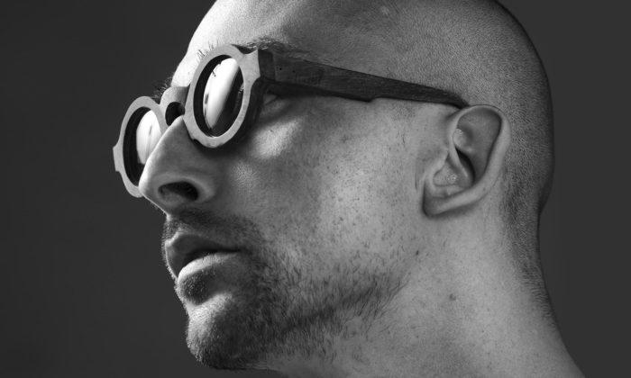 Martin Papcún navrhuje luxusní brýle zrohoviny vodního buvola