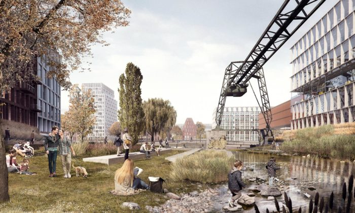 Kolín nad Rýnem přestaví nevyužívaný přístav vcentru města nabydlení arekreaci