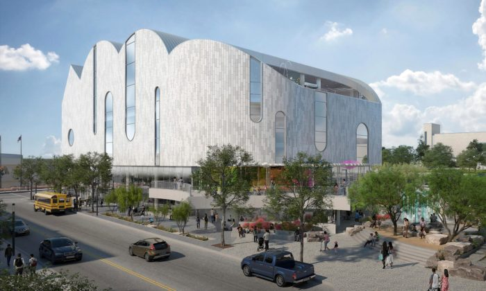 Snøhetta navrhla dětské muzeum El Paso vypadající jako mrak nakreslený dítětem