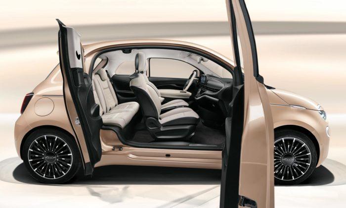 Fiat 500 dostal verzi 3+1 sdalšími malými dveřmi pro snadnější nastupování